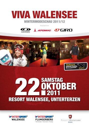 Flyer Viva Walensee (PDF) - Intersport Walensee