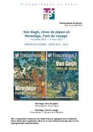 Van Gogh, rêves de Japon et Hiroshige, l'art du voyage