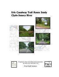 Clyde-Seneca River Study - Parks & Trails New York