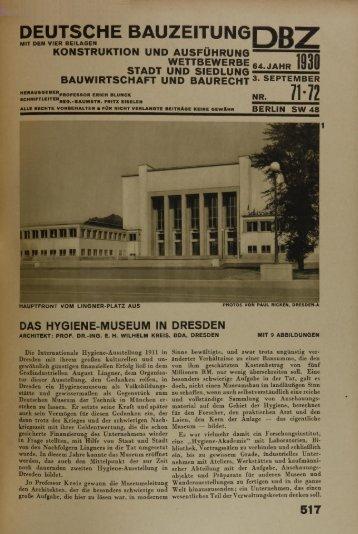 DEUTSCHE BAUZEITUN6D D 7