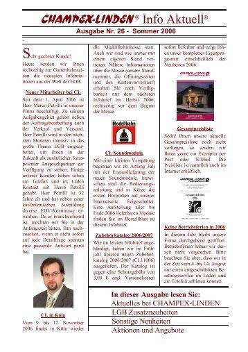 Ausgabe Nr. 26 - Champex-Linden