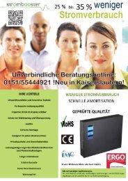 Unverbindliche Beratungshotline: 0151/55444921 !Neu in Kaiserslautern!