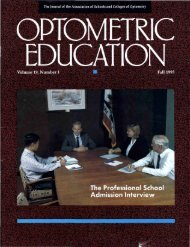 Fall 1993, Volume 19, Number 1 - Association of Schools and ...