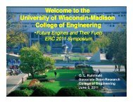 Welcome to the University of Wisconsin-Madison College - Engine ...