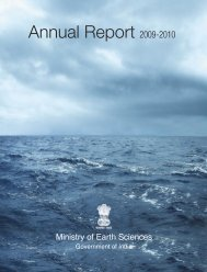 Annual Report 2009-2010 - Ministry Of Earth Sciences