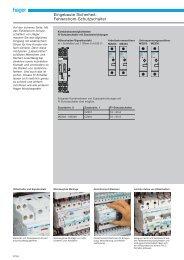 PDF Datei: Broschüre / Hager / Katalog Fehlerstromschutzschalter