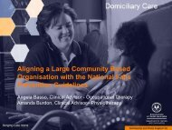 gning a large community-based organisation with the - Falls ...