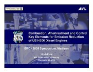 Combustion, Aftertreatment and Control Key Elements for Emission ...