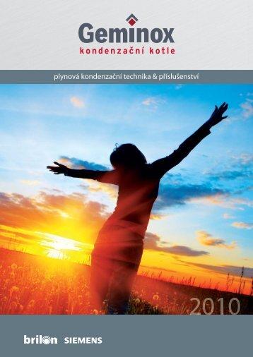 Geminox ceník + katalog 2010
