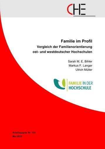 Familie im Profil. Vergleich der ... - Centrum für Hochschulentwicklung