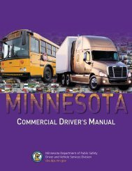 CDL Drivers Manual - Le Sueur County, Minnesota