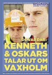 Nr 08 2006 Bilaga: Konflikten i Vaxholm - Byggnadsarbetaren