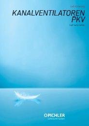 Kanalventilatoren PKV - Pichler
