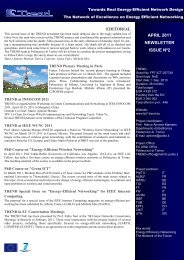 TREND Newsletter Issue nº2 April 2011 - Towards Real Energy ...