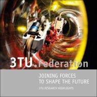 JOINING FORCES TO SHAPE THE FUTURE - 3TU
