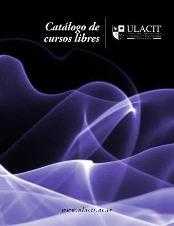 Catálogo de cursos libres - Ulacit