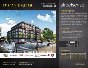 1919 14TH STREET NW - Streetsense