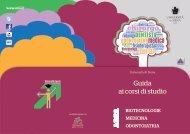 Guida ai corsi di studio - Università degli Studi di Siena