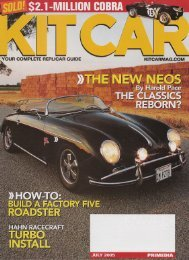 Kit Car - RodShows.com