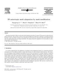 3D anisotropic mesh adaptation by mesh modification - SCoReC ...