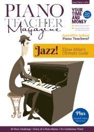 Piano Teacher Magazine Issue3 - NEW! - Hal Leonard Australia