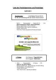 Die Liste der Preisträger im pdf-Format