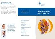 Behandlung im Brustzentrum - St. Rochus-Hospital Castrop-Rauxel