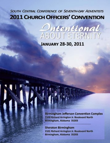 Program Cover 2011 BIRMINGHAM - South Central Conference