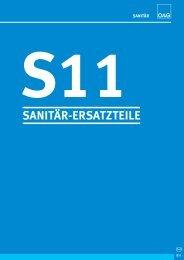 s11 sanitär-ersatzteile - ÖAG