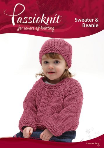 Sweater & Beanie - Passioknit Knitting :: Patterns, Yarns and Needles