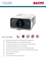 technische daten plc-xp100l - Office24-GmbH