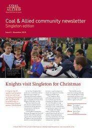 Coal & Allied Community Newsletter Singleton edition September ...