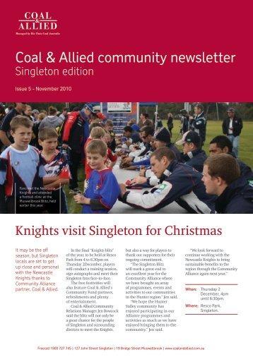 Coal & Allied Community Newsletter Singleton edition September ...