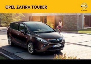 descarcati datele tehnice pentru Opel Zafira Tourer - Opel Erebus