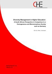 Diversity Management in Higher Education: