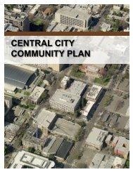 CENTRAL CITY COMMUNITY PLAN - 2030 General Plan