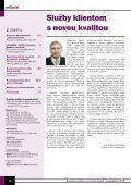 November 2004 - Ústredie práce, sociálnych vecí a rodiny - Page 2