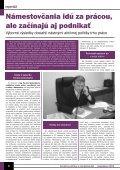 November 2004 - Ústredie práce, sociálnych vecí a rodiny - Page 6