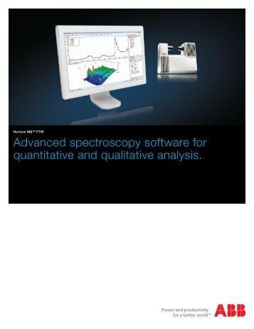 Horizon MB FT-IR Software Brochure - CEM Specialties Inc.