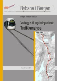 Trafikkanalyse - Bergen kommune