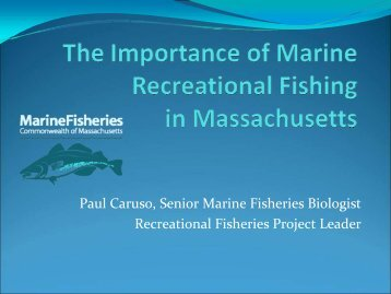 Importance Of Recreational Fishing In Massachusetts - The Rhode ...