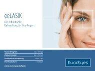 eeLASIK- Die individuelle Behandlung für Ihre Augen