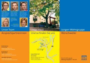 Wohngruppe Werschweiler - Stiftung Hospital