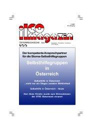 Ausgabe 2/2007 - ilco Österreich, Stoma-Dachverband