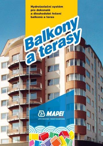 Balkony a terasy - BIGTILE