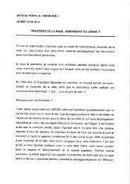 01/05/1995 Article pour Le Genevois sur - Charpente concept