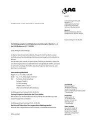 Fortbildungsangebot und Mitgliederversammlung der Bezirke 1 u. 2 ...