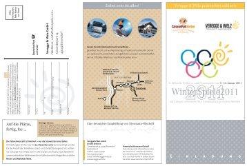 WinterSpiele2011 - Reisemobil Interaktiv