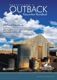 Outback Education Handbook PDF - Tourism Queensland