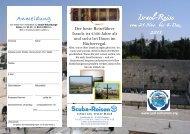 Israel Reisen 2013